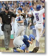 Toronto Blue Jays V Chicago Cubs Metal Print
