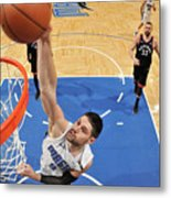 Toronto Raptors V Orlando Magic - Game Metal Print