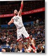 Toronto Raptors V Orlando Magic Metal Print