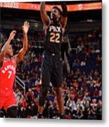 Toronto Raptors V Phoenix Suns Metal Print