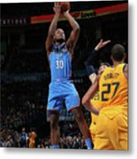 Utah Jazz V Oklahoma City Thunder Metal Print