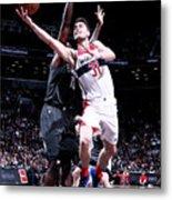 Washington Wizards V Brooklyn Nets Metal Print