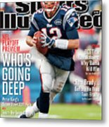 Whos Going Deep 2012 Nfl Playoff Preview Issue Sports Illustrated Cover Metal Print