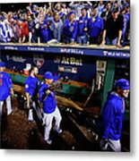 Wild Card Game - Chicago Cubs V Metal Print