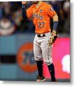 World Series - Houston Astros V Los Metal Print