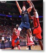 Dallas Mavericks V Houston Rockets Metal Print