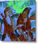 Kintu And Nambi Kintus Tasks Metal Print