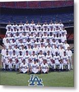 2004 Los Angeles Dodgers Team Photo Metal Print