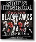 2010 Stanley Cup Finals Sports Illustrated Cover Metal Print
