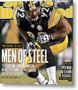 2011 Afc Championship New York Jets V Pittsburgh Steelers Sports Illustrated Cover Metal Print