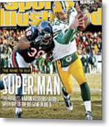 2011 Nfc Championship Green Bay Packers V Chicago Bears Sports Illustrated Cover Metal Print