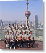 2017 Nba Global Games - China Metal Print