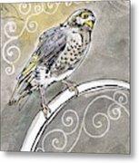 2018 Septembird 16 Myna Bird Metal Print