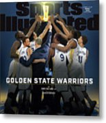 2018 Sportsperson Of The Year Golden State Warriors Sports Illustrated Cover Metal Print