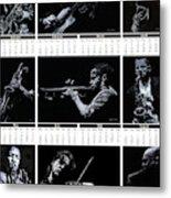 2019 High Resolution R Young Art Musicians Calendar Metal Print
