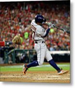 2019 World Series Game 5 - Houston Metal Print