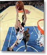 Brooklyn Nets V New York Knicks Metal Print