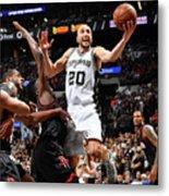 Houston Rockets V San Antonio Spurs - Metal Print