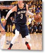 New Orleans Pelicans V Golden State Metal Print