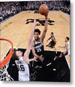 San Antonio Spurs V Sacramento Kings Metal Print