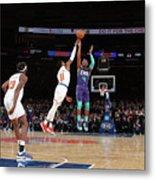 Charlotte Hornets V New York Knicks Metal Print