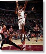 Chicago Bulls V Cleveland Cavaliers Metal Print