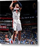 Washington Wizards V Orlando Magic Metal Print