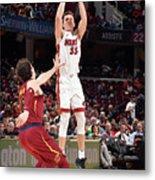 Miami Heat V Cleveland Cavaliers Metal Print