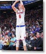 New York Knicks V Sacramento Kings Metal Print
