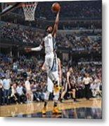 San Antonio Spurs V Memphis Grizzlies - Metal Print
