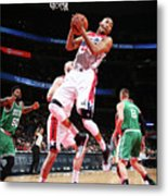 Boston Celtics V Washington Wizards Metal Print
