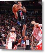 La Clippers  V Houston Rockets Metal Print