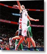 Boston Celtics V Washington Wizards - Metal Print