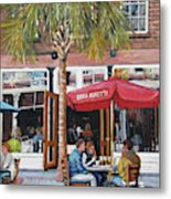 2nd Sunday Lunch On King St. Metal Print