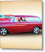 3 - 1955 Chevy's Metal Print