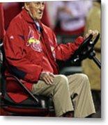 2011 World Series Game 6 - Texas 3 Metal Print