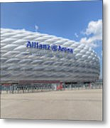 Allianz Arena Munich  Metal Print
