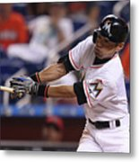 Arizona Diamondbacks V Miami Marlins 3 Metal Print