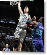 Charlotte Hornets V San Antonio Spurs Metal Print