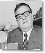 Chilean President Salvador Allende Metal Print