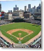 Cleveland Indians V Detroit Tigers Metal Print