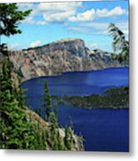Crater Lake Oregon Metal Print