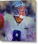 Dallas Cowboys.troy Kenneth Aikman Metal Print