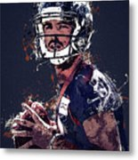 Denver Broncos.case Keenum. Metal Print