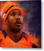 Denver Broncos.von Miller. Metal Print