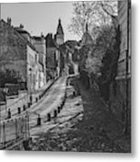 Exploring Paris Metal Print