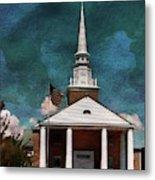 First Baptist Church North Myrtle Beach S C Metal Print