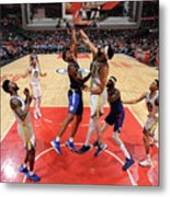 Golden State Warriors V La Clippers Metal Print