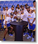 Golden State Warriors V San Antonio Metal Print
