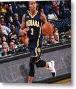 Indiana Pacers V Golden State Warriors Metal Print